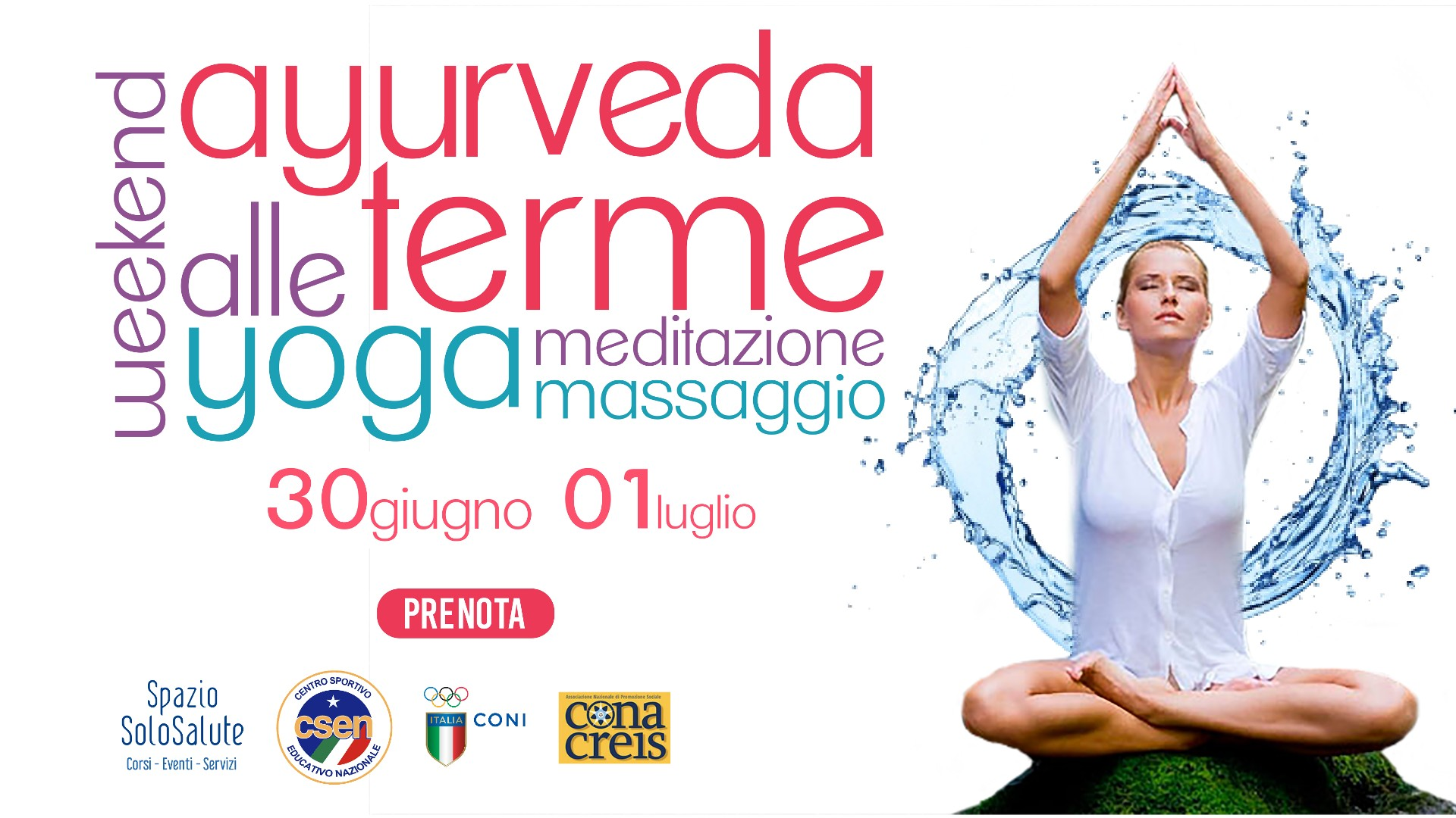 banner weekend yoga e ayurveda alle terme