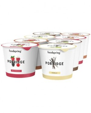 Porridge proteico pronto da consumare pacchetto da 8