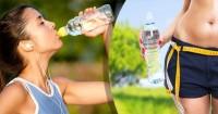 Il segreto per bere acqua e dimagrire