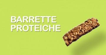 Prepara golose barrette proteiche fatte in casa con queste 3 ricette