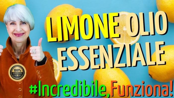 Come usare l' OLIO ESSENZIALE di LIMONE? 7 usi inaspettati